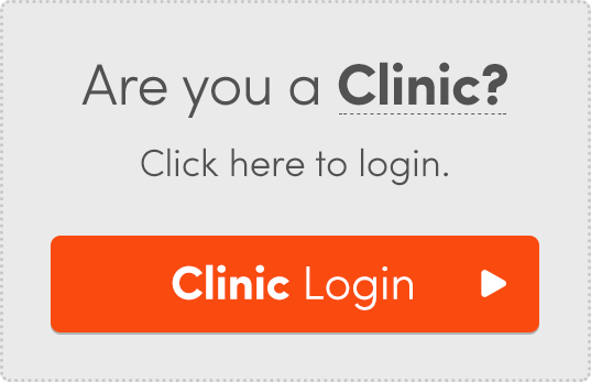 If you're a Clinic, click here to login.